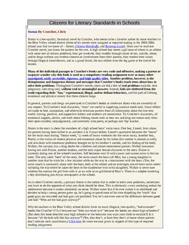 Censorship Analysis Writing Assignment