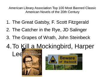 Censorship Lesson (To Kill a Mockingbird)