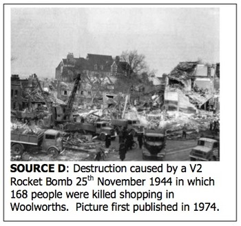 Censorship and Propaganda during the Blitz in World War Two.