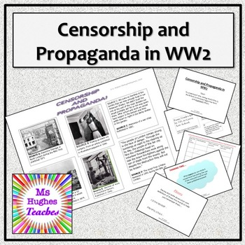 Propaganda Advertising Worksheets Teachers Pay Teachers