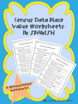 Census Data Place Value/ Data del Censo Valor Posicional