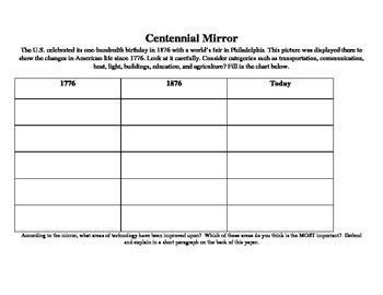Centennial Mirror - Turn of the Century