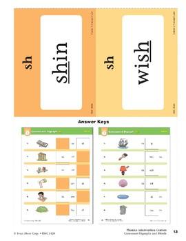 "Center 01: Consonant Digraph ""sh"" (Phonics Intervention Centers)"