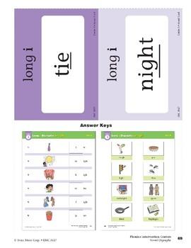 "Center 03: Long ""i"" Digraphs: ie/igh (Phonics Intervention Centers)"