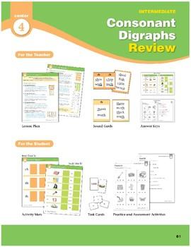 Center 04: Consonant Digraphs Review (Phonics Intervention Centers)