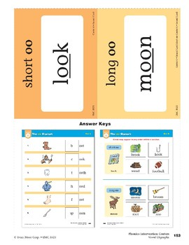 """Center 06: The """"oo"""" Digraph (Phonics Intervention Centers)"""