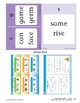 Center 08: Consonant Sounds Review c/g/s (Phonics Intervention Centers)