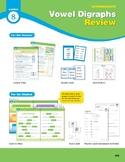Center 08: Vowel Digraphs Review (Phonics Intervention Centers)