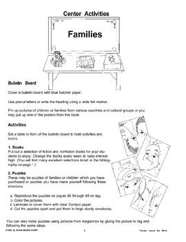 Center Activities: Families