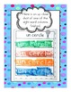 Center Activities for French Immersion September Monthly Calendar Words