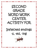 Center Activity: Inflected/Inflectional Endings