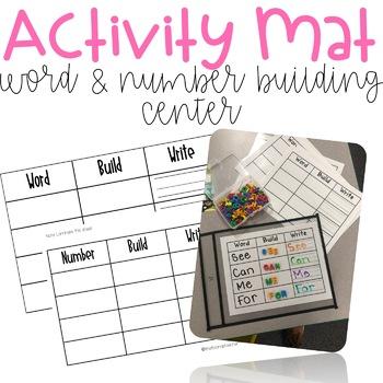 Center Activity Mat