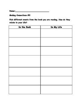 Center Activity Worksheets