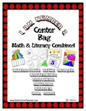 Center Bag - Math & Literacy - I am Number 3 - Common Core