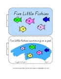 Center Bag Printables - Math and Literacy - Five Little Fi