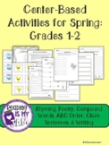 Celebrate Spring with Word Work + Writing-Grades 1-2!