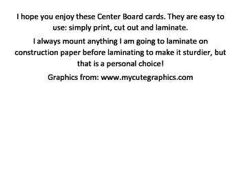Center Board Cards