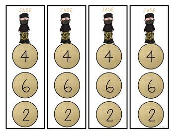 Center Bookmarks {Math & Literacy Center Mangaement Made Easy}