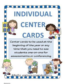 Center Cards for individual centers