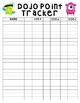 Class Dojo Point Tracker Chart