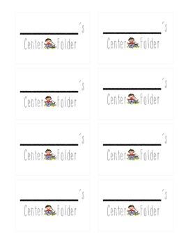 Center Folder Labels