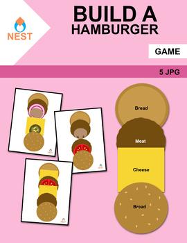 Center Game Build a Hamburger