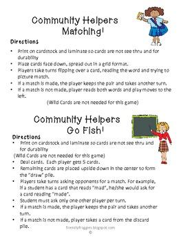 Literacy Center Game - Silent E Bossy E - Community Theme
