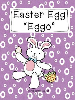 Literacy Center Game - Easter Egg Hunt - Word Work Tubs
