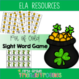 Literacy Center Game - Jackpot!  St. Patrick's Day Sight Word Game