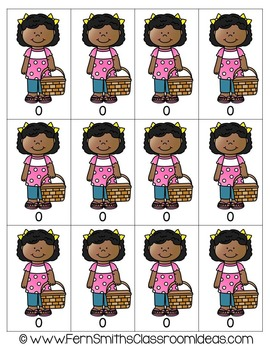 Subtraction Quick and Easy to Prep Math Center for Subtraction Doubles Freebie