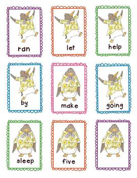 Literacy Center Game - Tacky the Penguin Sight Word Game -