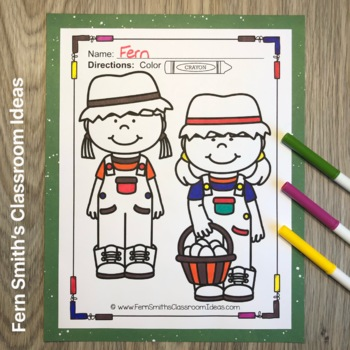 Farm Coloring Pages and Farm Animals Coloring Pages