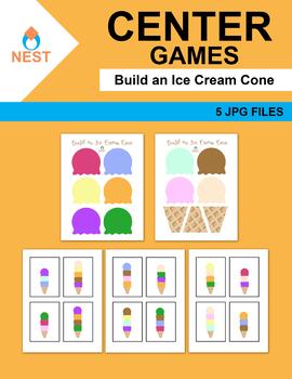 Build an Ice Cream Cone Center Games
