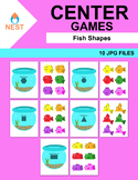 Fish Shapes Center Games