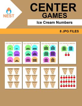Center Games Ice Cream Numbers