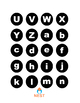 Match Ladybugs Letters in Lowercase and Uppercase Center Games