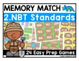 Math Games - 2.NBT.1, 2.NBT.2, 2.NBT.3, 2.NBT.4, 2.NBT.5, 2.NBT.6, 2.NBT.7 - 8