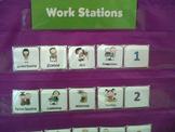 Center Icons for Pocket Chart