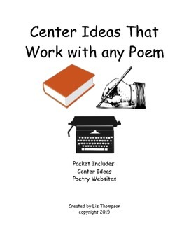 Center Ideas That Work for any Poem