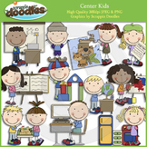Center Kids Clip Art