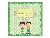 Center Labels