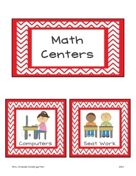 Center Labels - Chevron