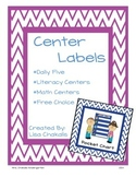Center Labels - Chevron