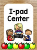 Center Labels - 55 Poster Sized Classroom Labels for Stations