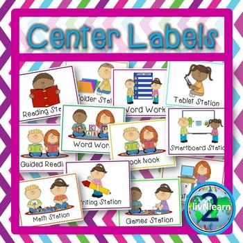 Center Labels FREEBIE