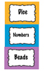 Center Labels - labeling - organization - back to school -