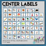 Center Labels- Blue