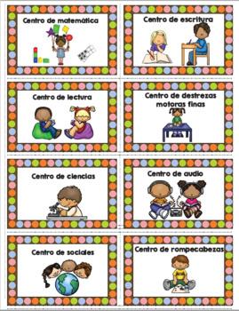 Center Labels Chocolate Polka dot SPANISH
