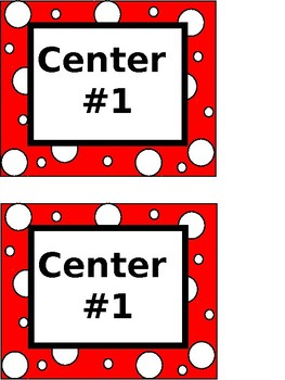 Center Labels (Colored)-EDITABLE