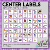 Center Labels - Purple